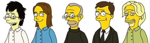 tech-figures-as-simpsons-characters